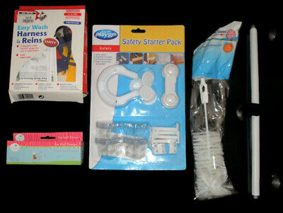 BRAND NEW Girls Items (Safety Pack, Harness, Wall Border)