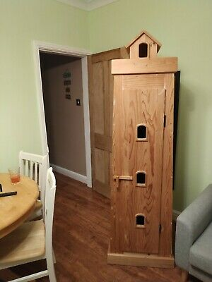 Solid Pine Wardrobe Used Childs Lighthouse design