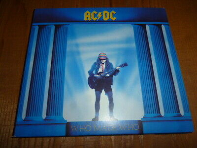 Who Made Who [Remaster] by AC/DC (CD, Oct-2003, Epic) Maximum Overdrive Digipak