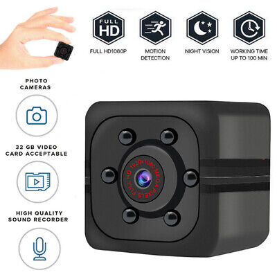 SQ11 HD 1080P Wireless Mini Telecamera Spy nascosta IP Security Night Vision DVR