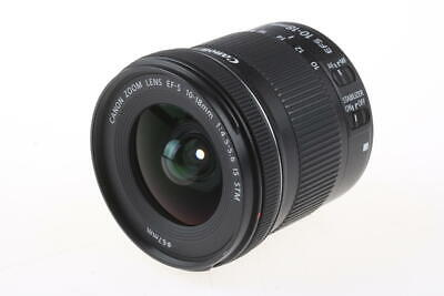 CANON EF-S 10-18mm f/4,5-5,6 IS STM - SNr: 2722010367