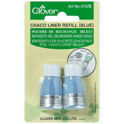 Clover Chaco Liner Refill Blue Marking Tools Sewing Quilting Patchwork
