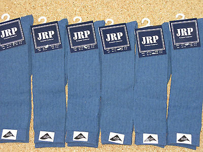 6 Pairs Denim Blue Girls Knee High Socks, Cheap
