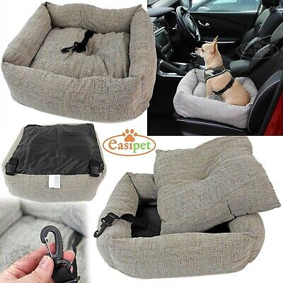 Travel Dog Bed Soft Washable Pet Puppy Cat Car Seat Cushion Comfort Protector