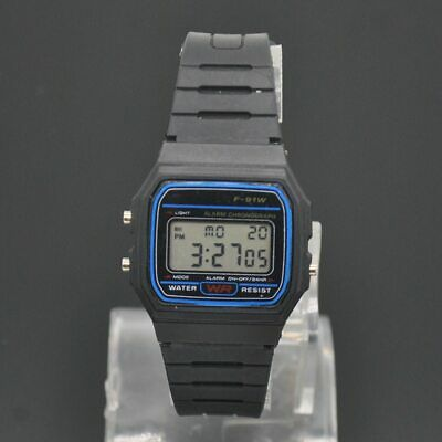 Casio F91W-1D F-91W-1 Digital Multi-functional Unisex Waterproof Sports watch