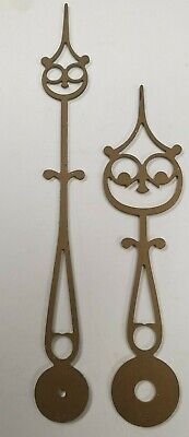 A Stylish Replacement Pair Of Brass Longcase/Grandfather Clock Hands-No Reserve!