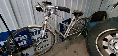 vintage john deere bicycle with headlight & taillight , never restored mint!!!