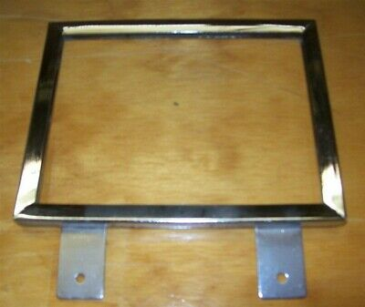 "Store Display Fixtures 4 NEW 5½""Hx7""W CHROME SIGN HOLDER SHELF OR WALL MOUNT"