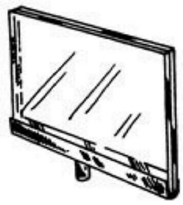 "Store Display Fixtures 2 NEW 7"" W x 11"" H CHROME CHANNEL ACRYLIC SIGN HOLDER"