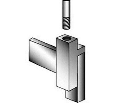 """Store Display Fixtures 3 NEW MAGNETIZED CLAMP FOR 3/8"""" THREADED STEM FOR SIGN H"""