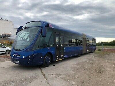 Volvo B7LA FTR Articulated Bendy Bus 6 Cylinder Turbo Diesel Leather Seats