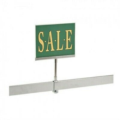 """New 5 Pack 7"""" x 11"""" Acrylic Frame Sign Holder With Rectangle Tubing Base"""