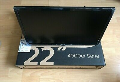 "Philips 22Pft4022/05 22"" Full Hd Ultra Slim Led Tv With Digital Crystal Clear."