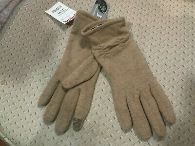 Womens GII Touch Glove Technology  Lt Brown Gloves NWT