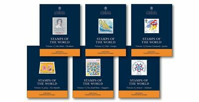 Stanley Gibbons 2020 Stamps Of The World - Set Of 6 Catalogues