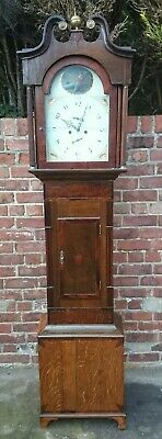 A Georgian  Longcase Clock For Restoration Or Spares  R.S. Stokes, Birmingham