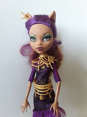 CLAWDEEN WOLF Frights Camera Action Monster High Dolls Excellent used condition