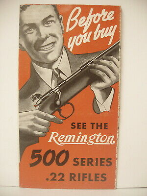 vtg KNOW YOUR DUCKS hunting poster Remington Arms Gun Ammo advertising sign