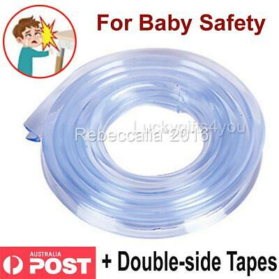 NEW Baby Safety Desk Table Edge Corner Protector Cushion Guard Strip Bumper 1/5m