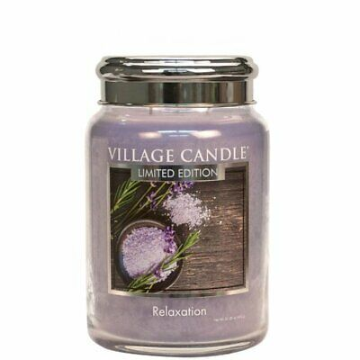 Village Candle Duftkerze Tradition Spa Relaxation (602g) - Limited Edition