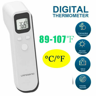 Forehead Thermometer Digital Baby For Kids Fever Health Medical Body Xe