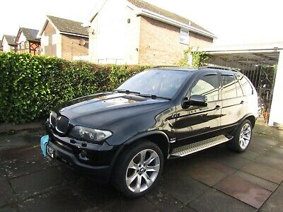 BMW X 5 Diesel sport black truly Immaculate throughout