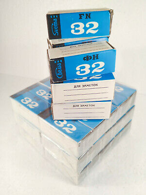 10 rolls 120 black and white film Svema Foto 32. Medium format roll film,expired