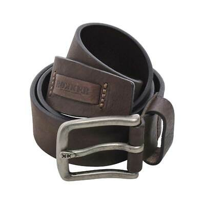 Rokker Kansas Moto Motorcycle Bike Belt Brown