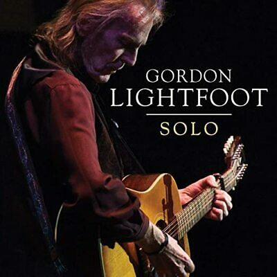 Gordon Lightfoot Cd - Solo (2020) - New Unopened - Rock - Rhino