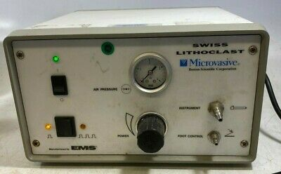 Microvasive EMS UrologyBoston Scientific Swiss Lithoclast Console + Power Cable