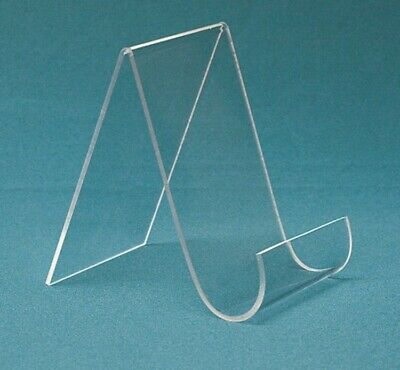 "Store Display Fixtures NEW 5½""W x 6""H WITH 1.5"" OPENING ACRYLIC DISPLAY EASEL"