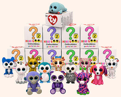TY MINI BOOS Series 2 Collectible Figures - Choose Your Own - COMBINED POSTAGE