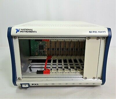 National Instruments PXI-1042Q PXI Chassis Mainframe #6889