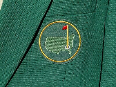 Masters Golf Green Replica Jacket Blazer Coat Quality Mens 42R Gold Buttons