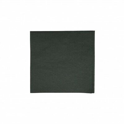 NEW Black 2 Ply Quilted Tissue Cocktail Napkins - 115mm - 230x230 Unfolded