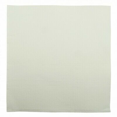 NEW White 2 Ply Quilted Dinner Napkins - 200mm - 400x400 Unfolded - PACKET(100)