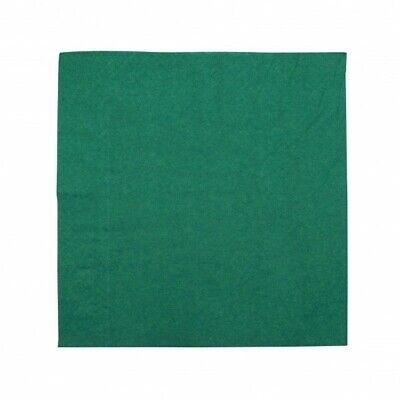 NEW Bottle Green 2 Ply Paper Luncheon Napkins - 150mm - 300x300 Unfolded