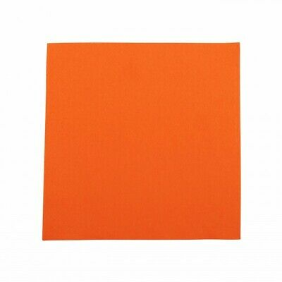 NEW Orange 2 Ply Paper Luncheon Napkins - 150mm - 300x300 Unfolded