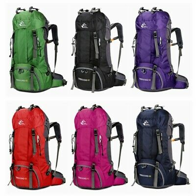 Free Knight 60L Camping Travel Rucksack Trekking Outdoor Backpack Hiking Bag VH