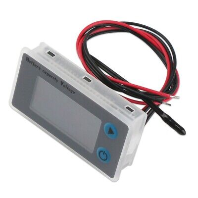 Lead-Acid Battery Cap Temp Volt Monitor Multi-Function Battery Capacity Detector
