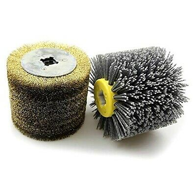 2 in 1 Woodwooking Polishing Wheel Brush Drum Sander Tools for Woodworker J2A5