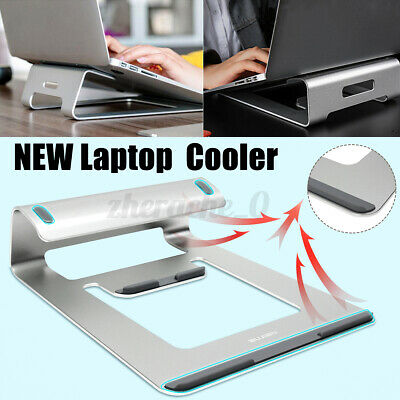 Home Office Aluminium Laptop Stand Tray Holder Cooling Riser For MacBook Pro AU