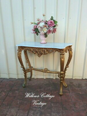 Vintage~French~Style~Ornate~Free~Standing~Hall~Side~Table