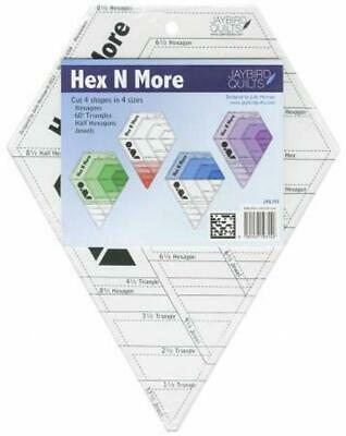 Quilting Ruler Hex n More Ruler Template Hexagon Jaybird Quilts Triangles
