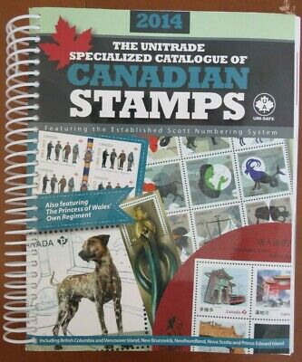 Canada 2014 Unitrade Specialized Catalogue of Canadian Stamps Like New!