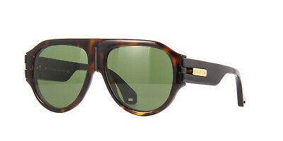 NEW Gucci GG0665S-004-58 Havana Black Sunglasses