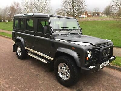 LAND ROVER 110 DEFENDER COUNTY STATION WAGON 2.5Td5 2 OWNERS 9 SEATER BFG TYRES