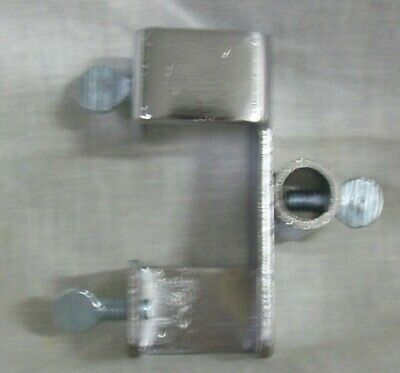 Store Display Fixtures 4 SQUARE TUBING ATTACHMENTS FOR SIGN HOLDERS