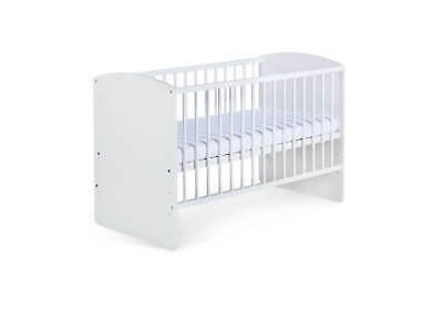 Wooden Baby Cot Bed, White, Very High Quality, Mattress To Choose!!!