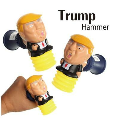 President Donald Trump Talking Toy Hammer with Lights and Trumpisms Sounds